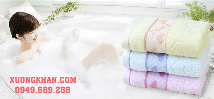 Xưởng sản xuất khăn bông tắm xuất khẩu