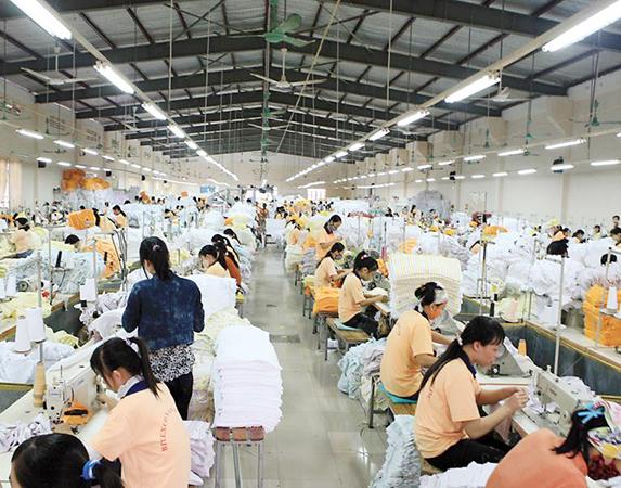 Xưởng sản xuất khăn bông xuất khẩu cao cấp