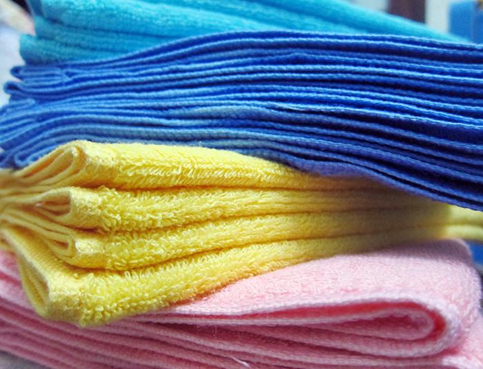 Xưởng sản xuất khăn gội đầu giá rẻ