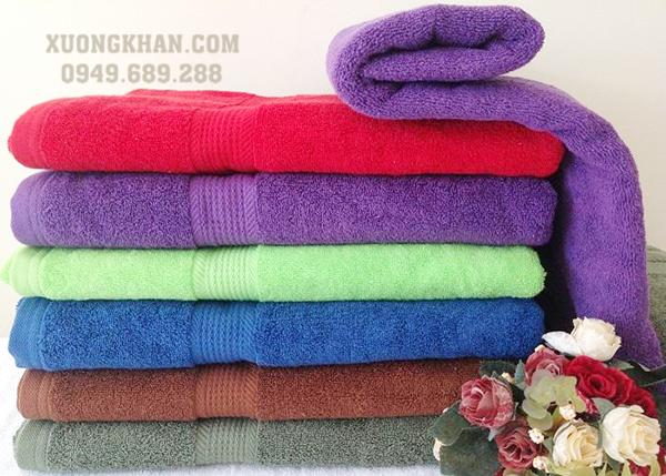 Xưởng sản xuất khăn bông cao cấp spa