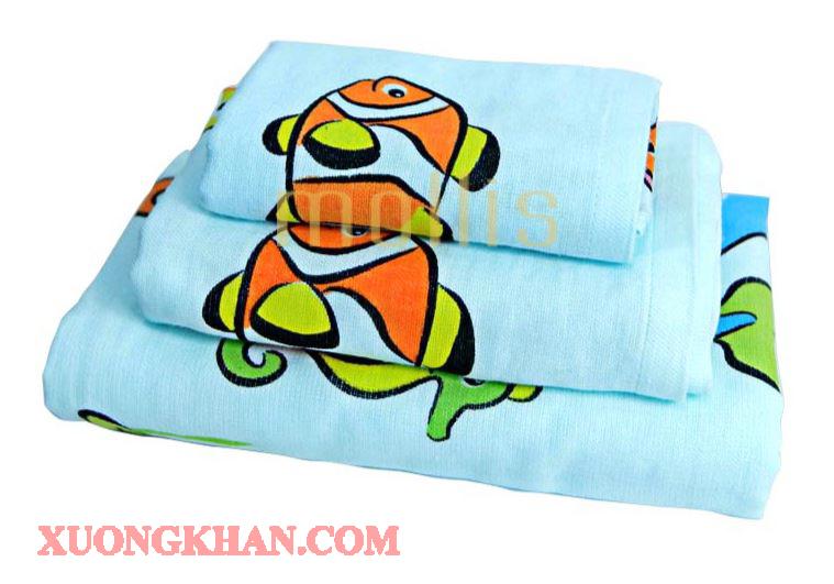 Báo giá sản phẩm khăn trẻ em cao cấp