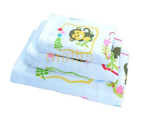Khăn bông tắm cho trẻ em mollis