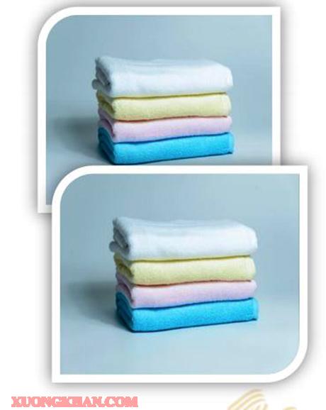 Bộ khăn bông mollis BM5C-BM6C-BM8B-FM8B-HM8B