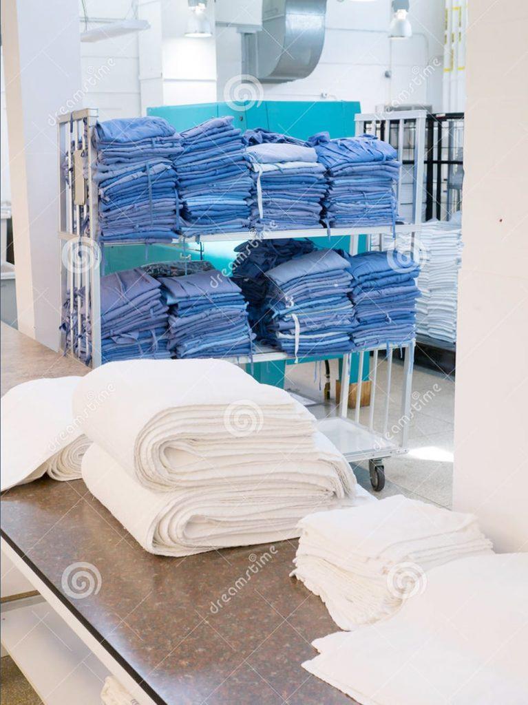 Lựa chọn khăn bông cho bệnh viện