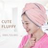 Hướng dẫn cách làm khăn bông bông làm khô tóc