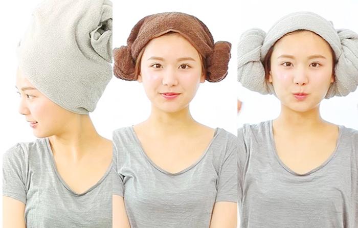Khăn lau tóc lau đầu cao cấp cho chị em phụ nữ