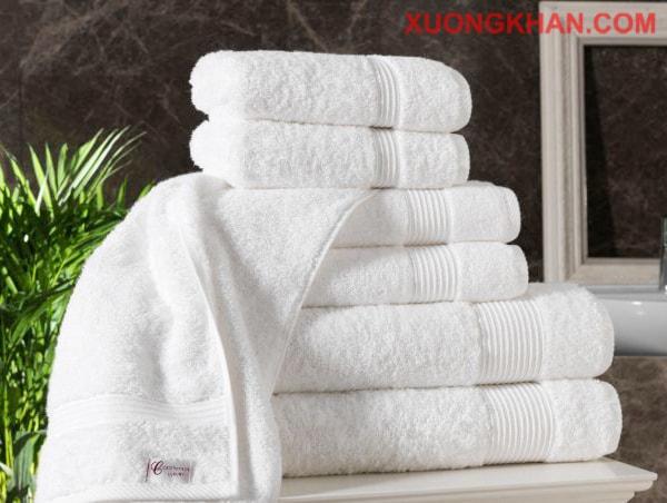 Bộ khăn bông khách sạn đẹp