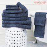 Bộ khăn cotton 100% chất lượng nhanh khô cao cấp cho phòng tắm siêu thấm nước